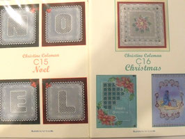 PATTERN PACK C15 & C16 - NOEL BY CHRISTINE COLEMAN