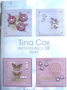 PATTERN PACK 30 HELLO BY TINA COX