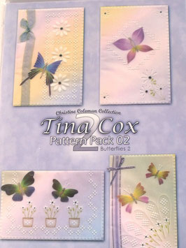 PATTERN PACK 2 - BUTTERFLIES 2 BY TINA COX