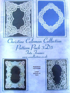 PATTERN PACK  3D5 - FOTO FRAMES BY CHRISTINE COLEMAN