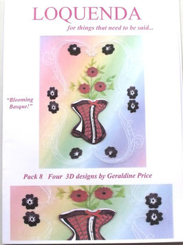 PATTERN PACK 8 BY GERALDINE PRICE