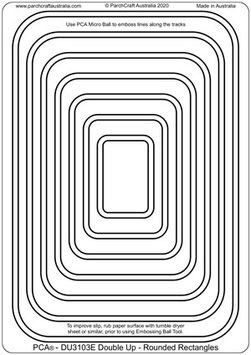 PCA DOUBLE UP - ROUNDED RECTANGLES