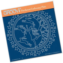 GROOVI PLATE -FAIRY NIGHT ROUND A5