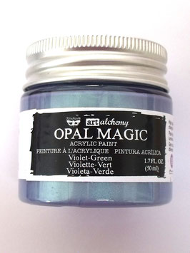 ART ALCHEMY OPAL MAGIC - VIOLET / GREEN