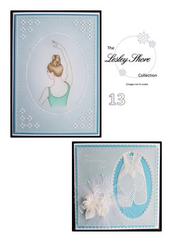 PATTERN PACK 13 BALLERINA BY LESLEY SHORE