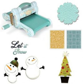 SIZZIX BIG SHOT WITH CHRISTMAS BUNDLE 1