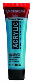 AMSTERDAM ACRYLICS 20ML - TURQUOISE BLUE