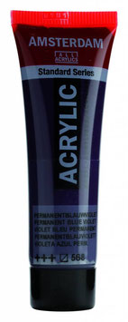 AMSTERDAM ACRYLICS 20ML - PERMANENT BLUE VIOLET