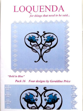 PATTERN PACK 16 - BY GERALDINE PRICE