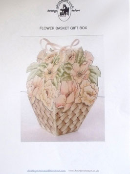 FLOWER BASKET GIFT BOX BY DOROTHY HOLNESS