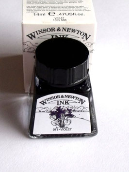 WINSOR AND NEWTON INK - VIOLET 14ml