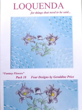 PATTERN PACK 18 BY GERALDINE PRICE