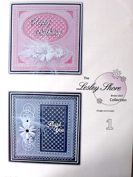 THE LESLEY SHORE COLLECTION -  PATTERN PACK 1