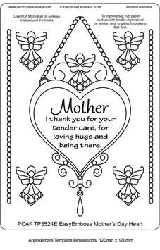 PCA TEMPLATE MOTHERS DAY HEART