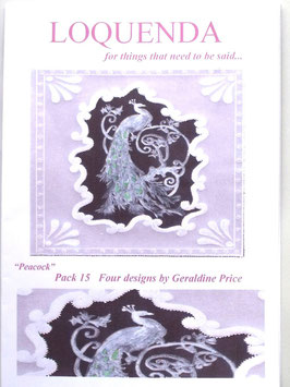 PATTERN PACK 15 - BY GERALDINE PRICE