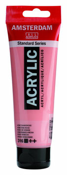 AMSTERDAM ACRYLIC PAINT -  VENETIAN ROSE  120ml