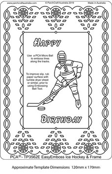 PCA TEMPLATE - ICE HOCKEY AND FRAME