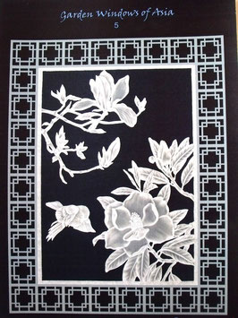 GARDEN WINDOWS OF ASIA BY JULIE ROCES - PROJECT PATTERN 5