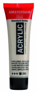 AMSTERDAM ACRYLICS 20ML - LIGHT NAPLES YELLOW RED