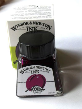 WINSOR AND NEWTON INK - PURPLE 14ml