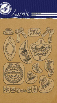AURELIE CLEAR STAMPS - THIS IS THE SEASON SET 1
