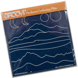 GROOVI PLATE - MOUNTAINS AND HILLS
