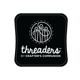 THREADERS FABRIC INK PAD - BLACK