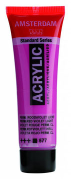 AMSTERDAM ACRYLICS 20ML - LIGHT PERMANENT RED VIOLET
