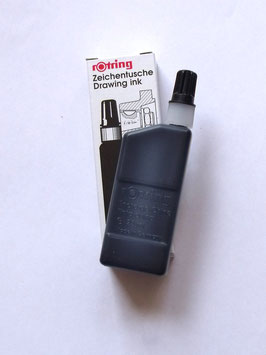 ROTRING BLACK DRAWING INK (USE WITH THE ROTRING ISOGRAPH PEN)