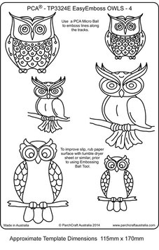 PCA TEMPLATE - OWLS 4