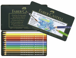 FABER CASTELL: ALBRECHT DURER WATERCOLOUR PENCILS 12