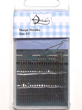 SHARPS NEEDLES SIZE  3-7