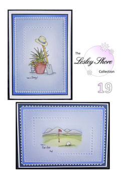 PATTERN PACK 19 GOLF AND GARDENING BY LESLEY SHORE