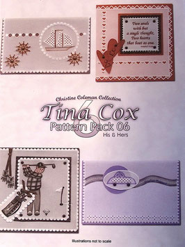 PATTERN PACK 6 - HIS & HERS 2 BY TINA COX