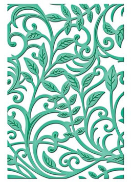 SPELLBINDERS SHAPEABILITIES EXPANDABLE PATTERNS - BOTANICAL SWIRLS