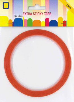 JEJE EXTRA STICKY TAPE 3MM X 10M