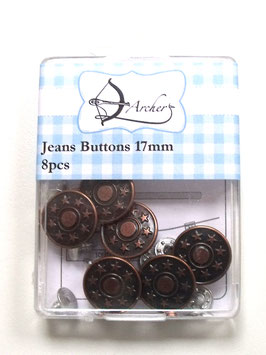 JEANS BUTTONS 17MM (8PCS)