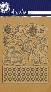 AURELIE CLEAR STAMPS - THIS IS THE SEASON SET 2