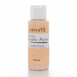 DOCRAFTS ARTISTE ACRYLIC PAINT 2OZ - FLESH