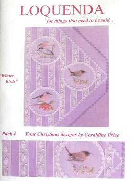 PATTERN PACK 4 BY GERALDINE PRICE