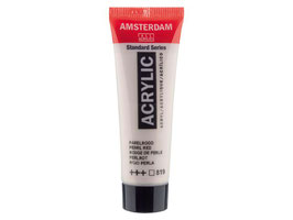 AMSTERDAM ACRYLICS 20ML -  PEARL RED