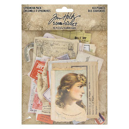 TIM HOLTZ EPHEMERA PACK KEEPSAKES