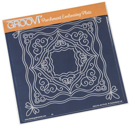GROOVI PLATE - ORNATE BOXES