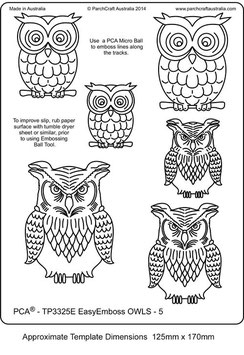PCA TEMPLATE - OWLS 5