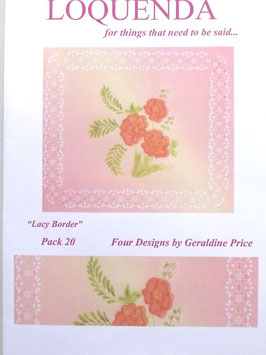 PATTERN PACK 20 - BY GERALDINE PRICE