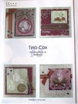 PATTERN PACK 18 BAUBLES BY TINA  COX