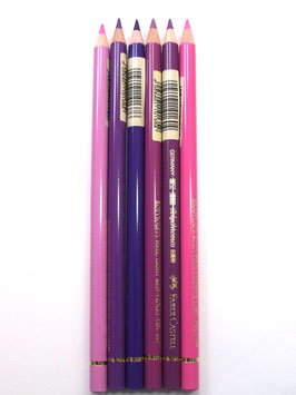 FABER CASTELL BUNDLE OF 6 PURPLE SELECTION
