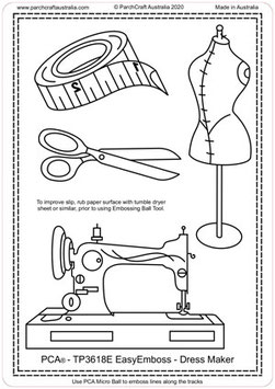 PCA TEMPLATE DRESS MAKER