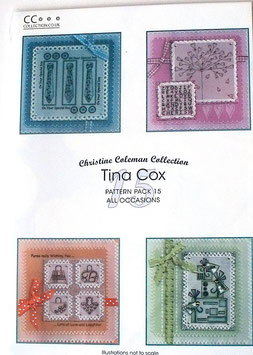 PATTERN PACK 15 ALL OCCASIONS -  BY TINA COX