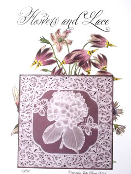 FLOWERS AND LACE DESIGN NO 7 BY JULIE ROCES